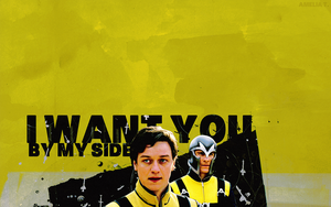 X-Men - Erik, Charles by AmeliaTonks