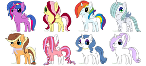 MLP Adopt: Guess the Ship! 2 (CHEAP!!) -CLOSED- by ChopstickGirl241