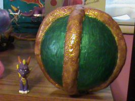 Spyro- Custom Green Orb by KrazyKari