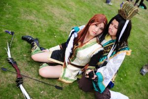 Dynasty warriors6 Zhu GeLiang2 by machui826