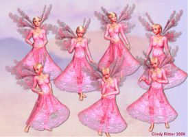 Pink Fairy PSP Tubes by CrazyDreamer1