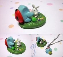 Catbug Easter Gift Pack by Cryssy-miu