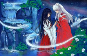 Inuyasha and Kikyou - Fate by ComplexWish