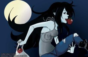 Marceline's Adventure Snack Time! by Lilly-Lamb