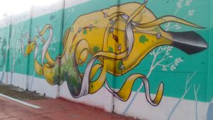 Graffiti in World Cup Brazil 2014 - 3 by WgnrGui