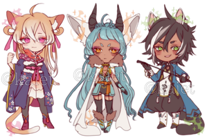 Mystery venia batch 5 (Designs revealed!) by Kaiet