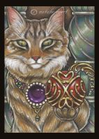 Bejeweled Cat 22 by natamon