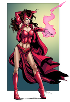 Scarlet Witch - Colors by OriginStory