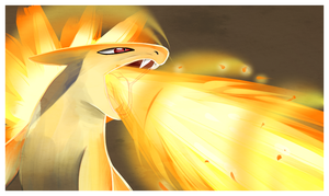 Typhlosion by LacedHarlot