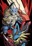 Mecha Pokemon color by adivider
