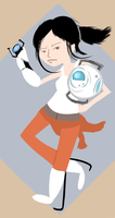 Chell by xSaria