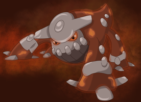 Fiery Magma: Heatran by Sindorman