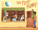 OC: the plot bunny by BearWithGlasses