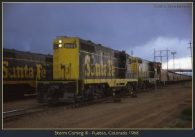 Storm Coming III by classictrains