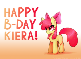 Happy Birthday Little Sis! by Vulpessentia