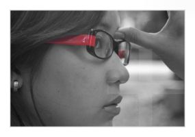 Red Glasses by mankeeman