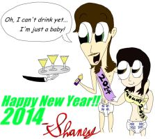 New Year's Eve Party 2014 by ShaneySqueeBoy
