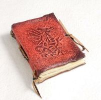 Little Red Dragon Journal by gildbookbinders