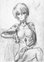 Ayanami Rei by SolidJB