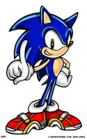 Sonic Sega Style by CPC