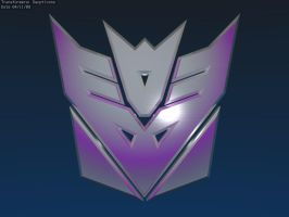 Decepticons logo by flightcrank