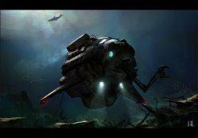 Submarine by AndreeWallin