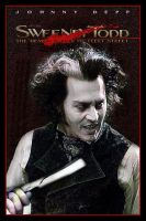Sweeney Todd Movie Poster XIX by Rickbw1