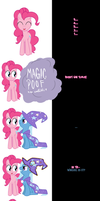 Pinkie and Trixie say Goodnight again! by Undead-Niklos