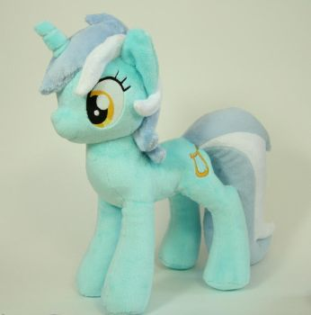 Lyra Plush by Yukamina-Plushies
