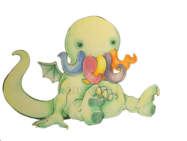 Cutethulu by QuiltedPanda