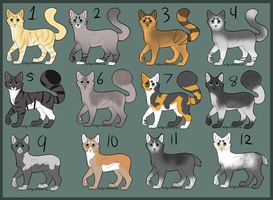 Cat Point Adopts - Open - by Soulphur