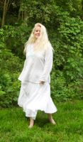 Susannah in White 10 by HauntingVisionsStock