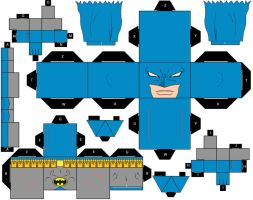 Cubee Craft Batman Classic DC Super Heroes by handita2006
