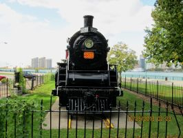 Old Train Down At The River Pic 2 by catsvsfox
