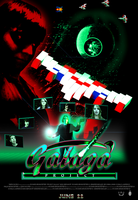 Main Poster Design W/ Logos  PROJECT Galaga by AzureFlame92