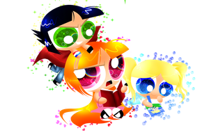 Powerpuffs by xXBloody-MagicXx