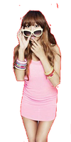 Sistar HyoRin PNG by Kpopified