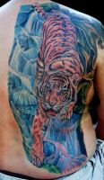 tiger back piece by tat2istcecil