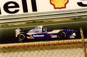 David Coulthard, Williams, Estoril - 1995 by F1PAM