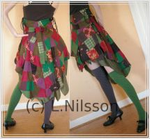Patchwork skirt - the second by lierni