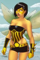 Vitamin Bee coloured by Hex-Girl