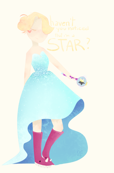 She's a Star. by fullxfthxughts