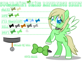 Sugarmint Skies Reference Sheet by equinepalette