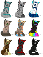 Foxy-dopts Sheet 3 by Muffin-Adopts