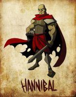 Hannibal by jeffagala