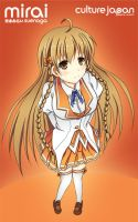 Mirai Suenaga by NickChronicle