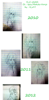 N_a's Traditional sketch 2010-2013 by mahura97