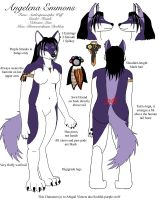 My Anthro Reference -revamped- by Soulful-Purple-Wolf