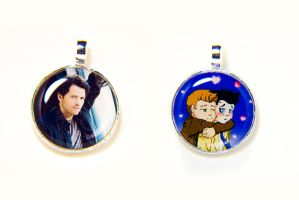 Supernatural Necklaces by otterling