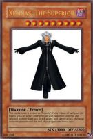 Xemnas, The Superior card by A5L